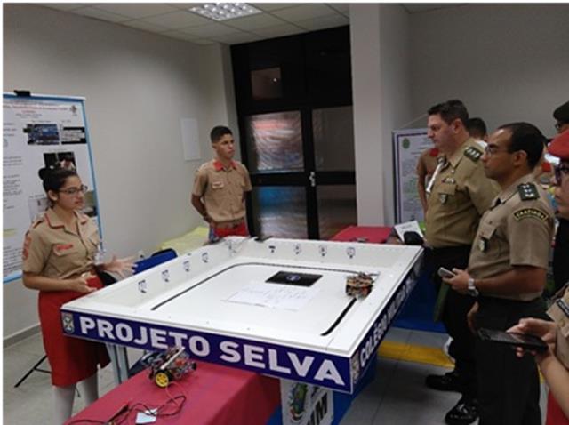 Projeto com Sistema de Localização para deficientes visuais, do Colégio Militar de Manaus, é destaque