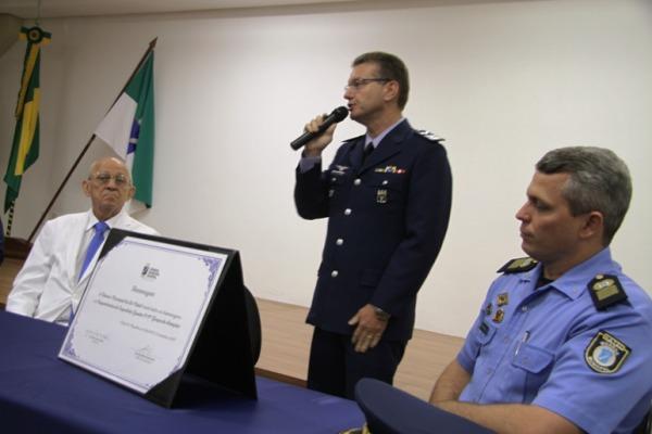 Sessão Solene marca comemorações do cinquentenário do Esquadrão Gavião