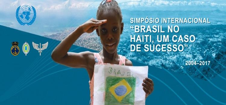 CCOPAB promove simpósio internacional sobre a MINUSTAH