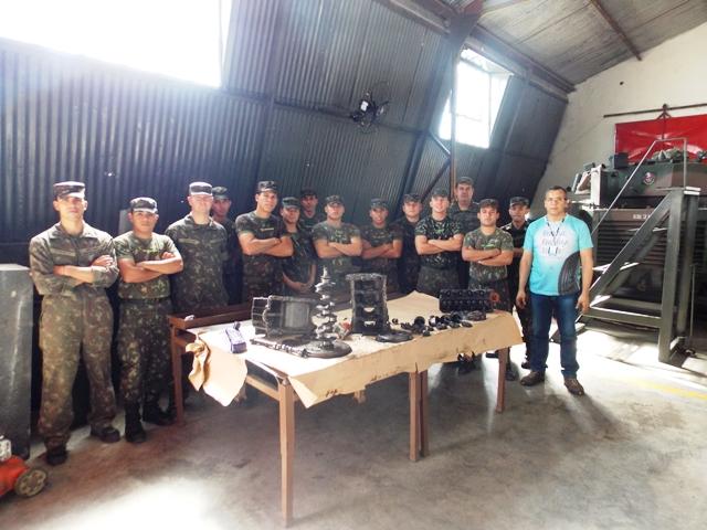 Projeto Soldado Cidadão disponibiliza Curso de Mecânica Diesel no SEST SENAT para militares