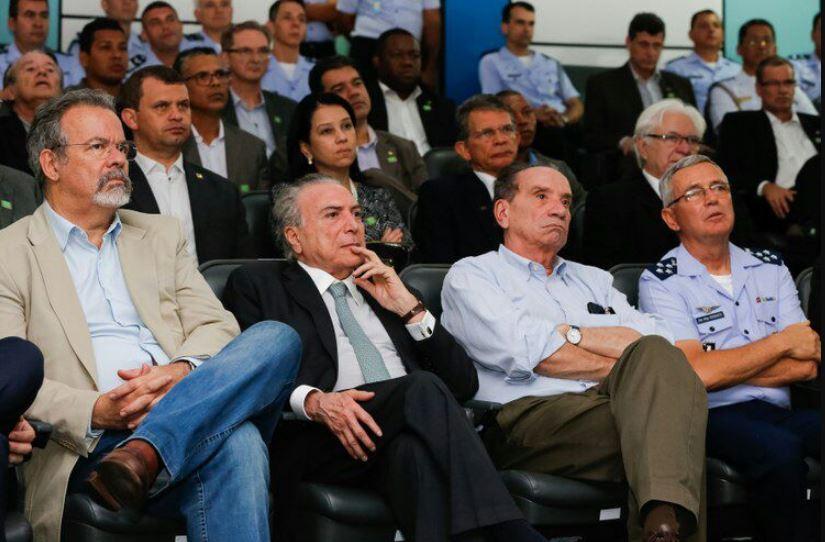Presidente da República visita Centro de Lançamento de Alcântara, no Maranhão