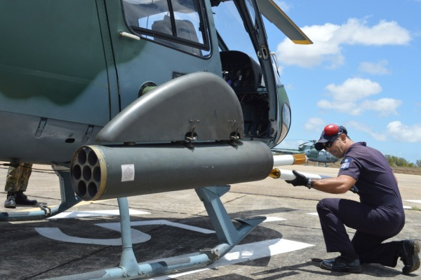 Exercício Gavião de Fogo treina futuros pilotos de asas rotativas no combate