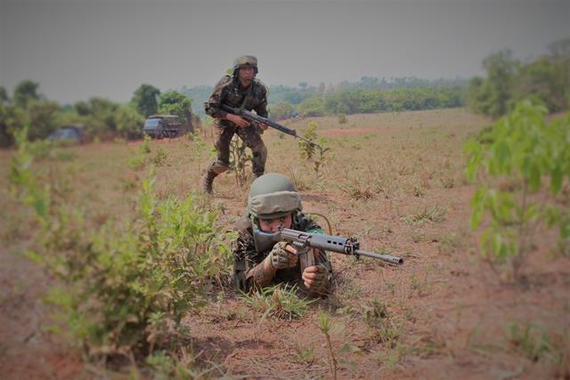 Operação Voadeira adestra a tropa com Exercício de Defesa Externa no município de Barra do Garças