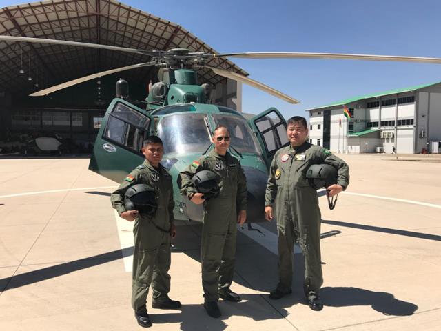 3º BAvEx assessora o Exército da Bolívia na implantação da sua Aviação do Exército