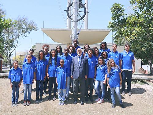 Presidente da Academia Brasileira de Letras visita o CEFAN