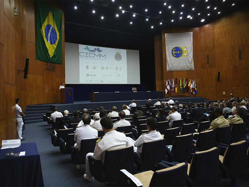 2º Distrito Naval realiza o I Congresso Internacional de Contramedidas de Minagem