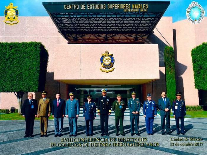 XVIII Conferência dos Diretores de Colégios de Defesa Ibero-Americanos