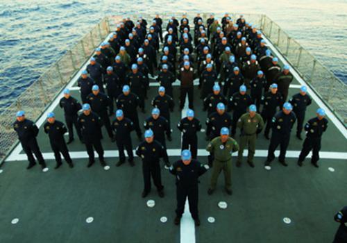 Força-Tarefa Marítima da UNIFIL comemora 11 anos de criação