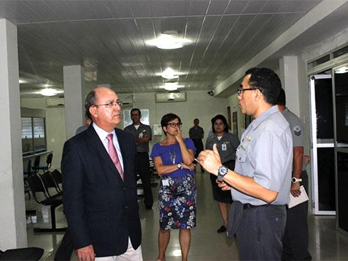 Coordenador do GEPROPES da Marinha visita Hospital Naval de Recife