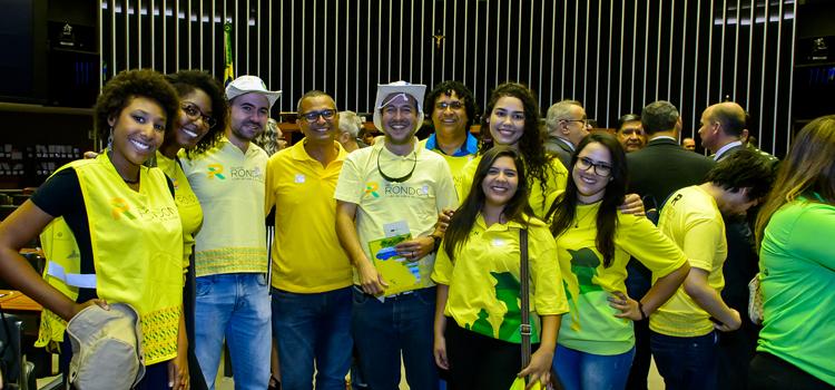 Sessão solene em homenagem aos 50 anos do Projeto Rondon