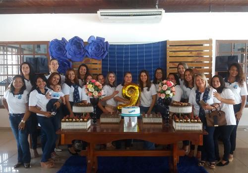 Voluntárias Cisne Branco comemoram nove anos