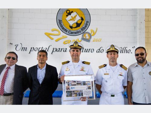 Abrigo do Marinheiro em São Pedro da Aldeia realiza transmissão do cargo de diretor