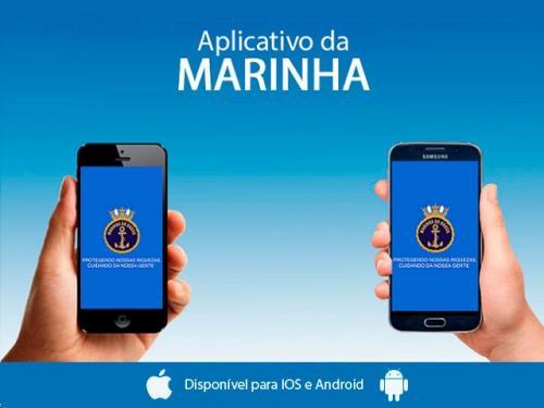 Marinha do Brasil lança nova versão de aplicativo para smartphones e tablets