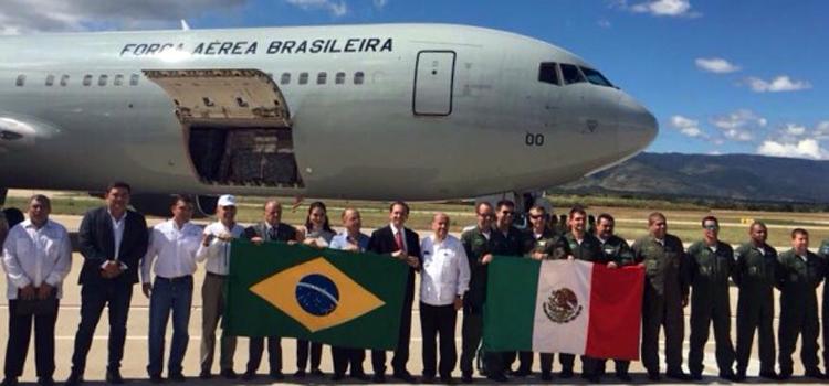 FAB transporta diversos tipos de materiais para o México