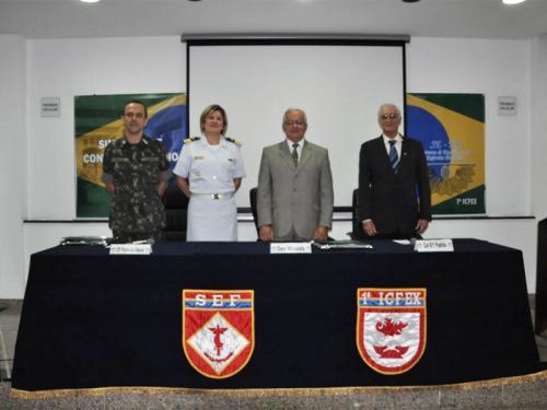 CCIMAR participa do 10º Simpósio de Controle Interno da 1ª ICFEX