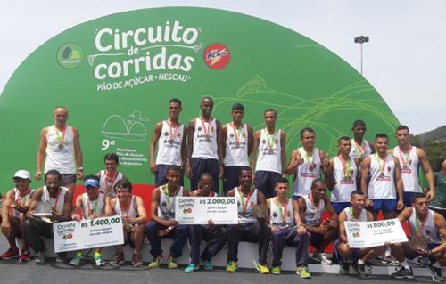 Equipe de corrida da FFE é Octacampeã em Maratona no Rio