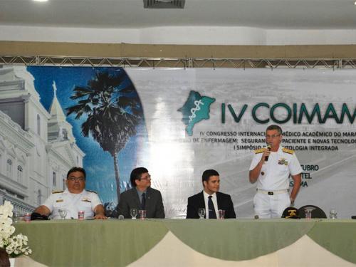 Marinha do Brasil participa do IV Congresso Internacional Médico Acadêmico do Maranhão