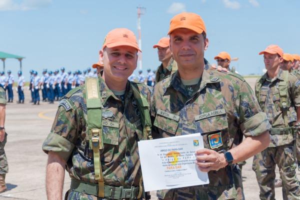 Cerimônia marca a formatura do Curso de Comandos e aniversário do PARA-SAR