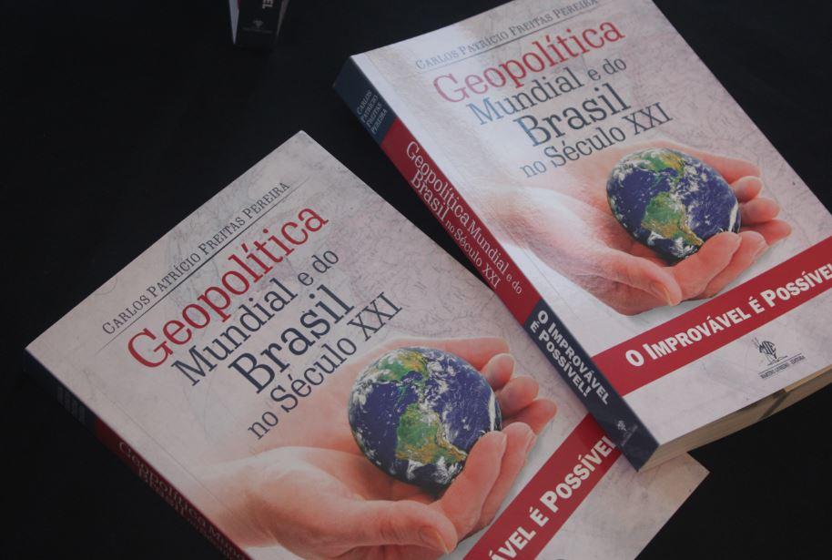 Lançamento do livro Geopolítico Mundial e do Brasil no Século XXI