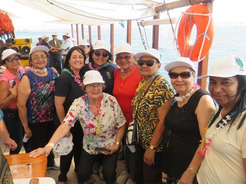 SASM promove ação para idosos em passeio pela Baía de Guanabara