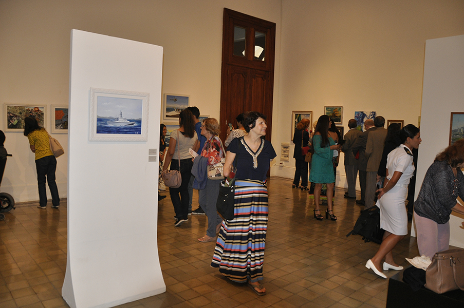 ComGerCFN inaugura XXII Salão de Artes Plásticas do Corpo de Fuzileiros Navais