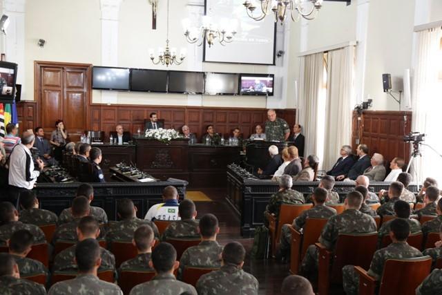 Tiro de Guerra de São Carlos comemora 100 anos de apoio, presença e Braço Forte do Exército na região