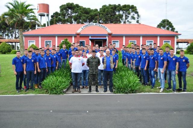 Viagem de instrução de cadetes do Liceu Militar do Paraguai ao Brasil