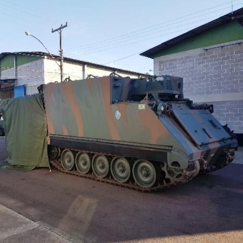 Exército finaliza a recuperação do primeiro lote de Viaturas Blindadas Especiais Posto de Comando