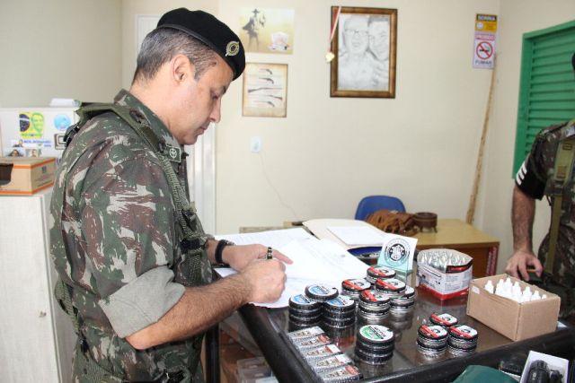 Exército Brasileiro realiza fiscalização no comércio de armas e munições
