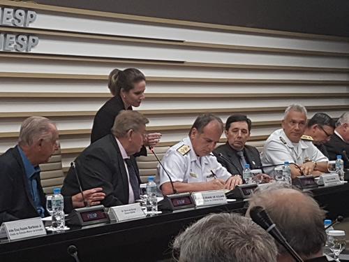Marinha celebra acordo de cooperação com a FIESP