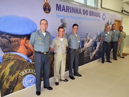 Escola de Operações de Paz de Caráter Naval conduz estágio básico do 15º contingente da FTM-UNIFIL