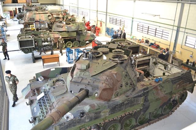 Exército Brasileiro e a Revisão dos contratos de manutenção e suprimento de peças para a Família Leopard