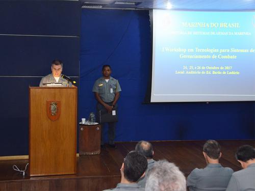 I Workshop em Tecnologias para Sistemas de Gerenciamento de Combate