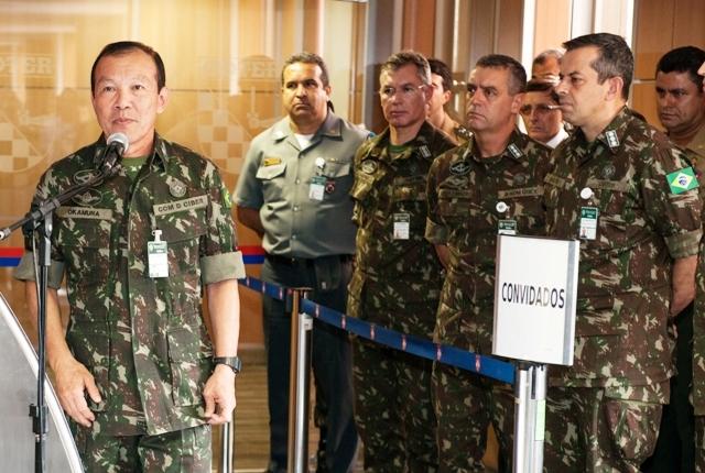 Transferência das instalações do Comando de Defesa Cibernética ao Comando de Operações Terrestres