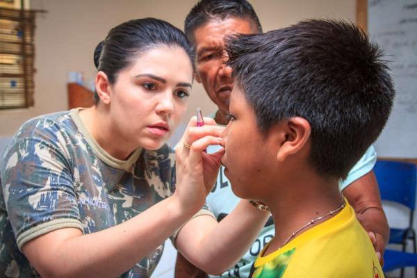 FAB realiza Ação Cívico-Social em comunidade no Amazonas