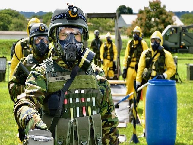 Reestruturação do Sistema de Defesa Química, Biológica, Radiológica e Nuclear do Exército é finalizada