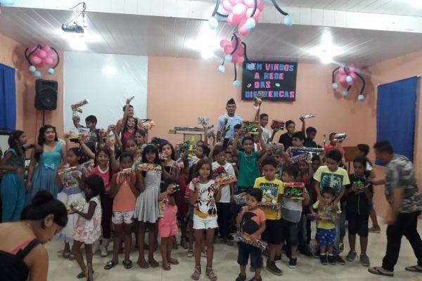 Prefeitura de Aeronáutica de Manaus distribui mais de 5 mil brinquedos