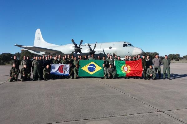 Esquadrão Orungan participa de exercício operacional em Portugal