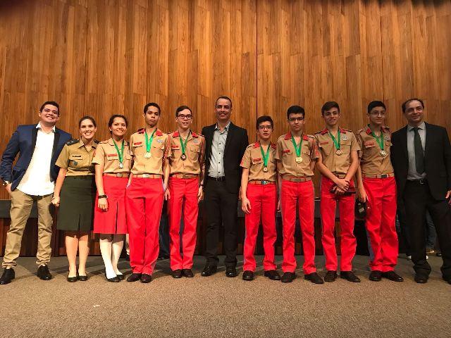 Premiação da Olimpíada de Matemática do Distrito Federal