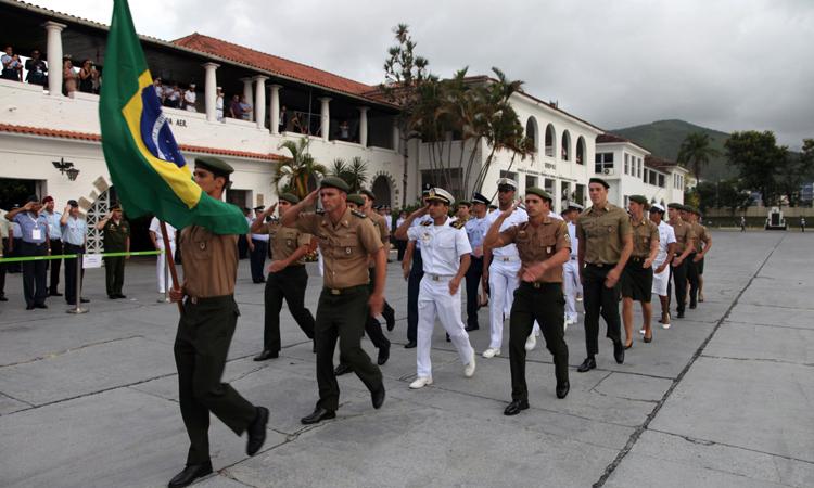 Abertura do 49º Campeonato Mundial Militar de Natação reúne atletas de 12 países