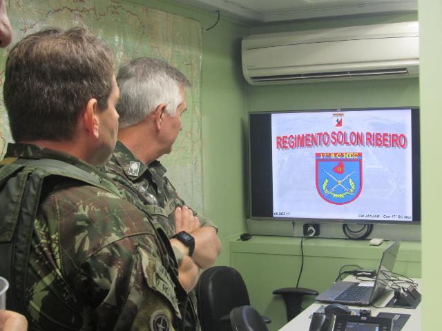 Sob o Comando da 5ª DE, Brigadas distintas operaram em perfeita sincronização, com ações simultâneas