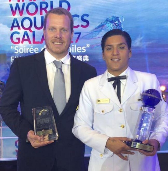 Sargento da Marinha é eleita a melhor atleta de maratona aquática do mundo