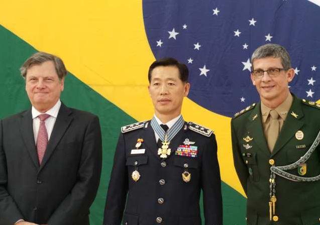 Comemoração do Dia da Bandeira e entrega de Medalha