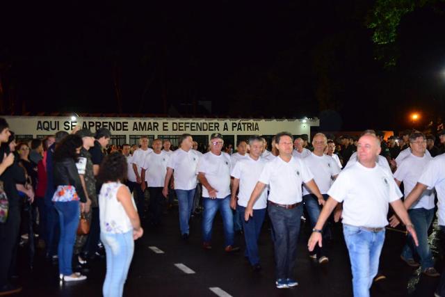 Encontro da 1ª Turma de Atiradores do TG 05-009 de Maringá (PR) comemora 45 anos após sua formação