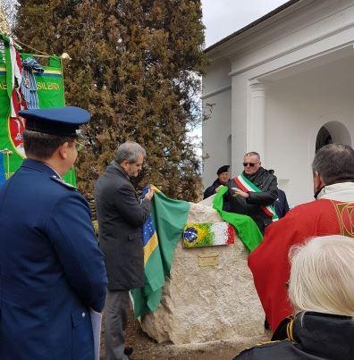 Herói brasileiro da Segunda Guerra Mundial é homenageado na Itália