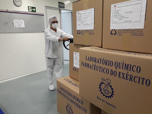 Seguindo as ações para reestruturação de seus processos de fabricação, o LQFEx retoma produção