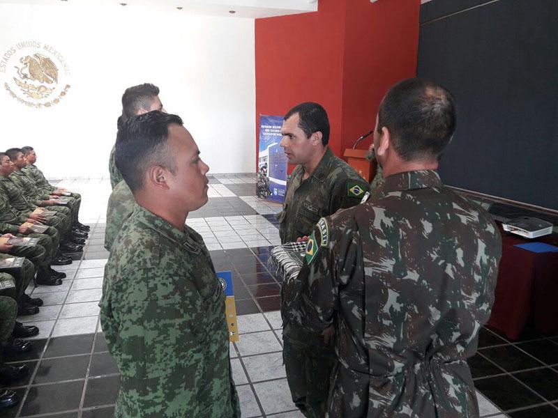 Marinha do Brasil contribui para capacitação de militares mexicanos