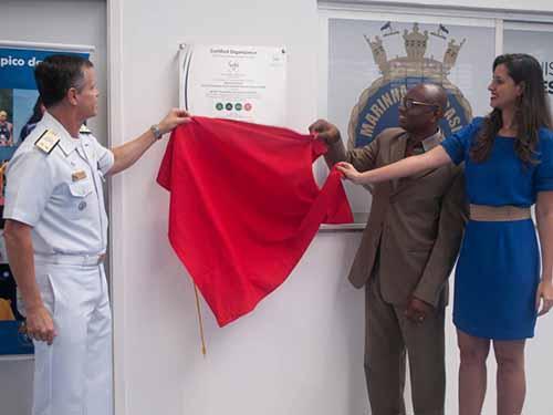 Marinha do Brasil é a primeira instituição pública a receber Certificação de Sustentabilidade da WTS