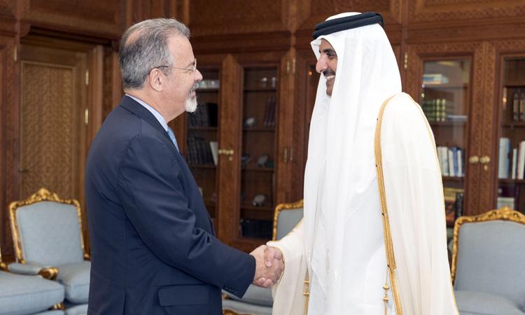 Jungmann discute defesa e segurança com emir do Catar