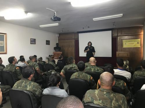 """NAS/CIAMPA promovem palestra por meio do Projeto """"Liberdade e Responsabilidade"""""""
